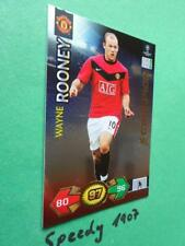 Champions League 09 10 Super Strikes Manchester Rooney Champion Panini Adrenalyn