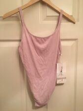Lululemon X The Class By Taryn Toomey Heart Opener Bodysuit NWT POIK Pink Sz 6
