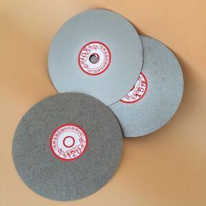 "Diamond coated 150mm 6"" Flat Lap wheel lapping grinding polishing disc 120 GRIT"