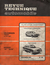 RTA revue technique automobile n° 361 PEUGEOT 604 504 V6 1976