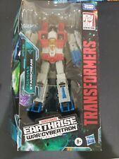 New listing Starscream Transformers War for Cybertron: Earthrise Voyager Class Hasbro 2019