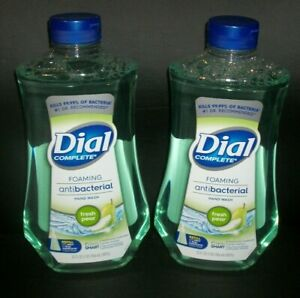 DIAL COMPLETE Foaming HAND Wash Refill (LOT OF 2) 32oz FRESH PEAR Hand Soap