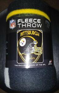 Pittsburgh Steelers® Fleece Throw Blanket