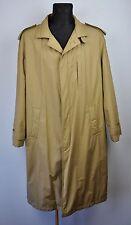 STRELLSON Swiss Mac Over Coat Jacket 44 UK Trench EUR 54 Gr Mantel Herren Jacke