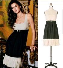 fdf7ac3e9171 Yoana Baraschi 8 Silk Sleeveless Dress Cream Black Mini Theatre Royal Party