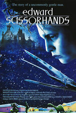 EDWARD SCISSORHANDS - MOVIE POSTER 24x36 - BURTON DEPP 41427