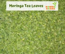 Organic Herbal Moringa Teacut Dried Leaves India Vitamin Rich Dietary Botanicals