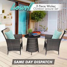 PE Wicker Leisure Set Rattan Garden Outdoor Furniture Patio Lounge Setting