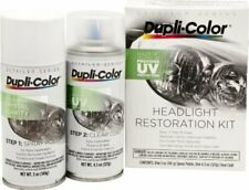 Dupli-Color HLR100 Headlight Restoration UV Protection Spray & Clear Coating Kit