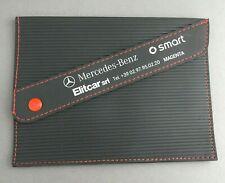 VINTAGE POUCH DOCUMENTS ITALIAN MERCEDES-BENZ SMART AGENT CAR (2)