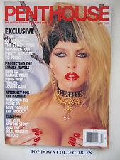 Penthouse Magazine  July 1995    Dyanna Lauren Pet Of The Month