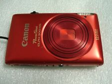 Very Nice Canon PowerShot 300HS IXUS 220 HS 12MP Digital Camera - Red