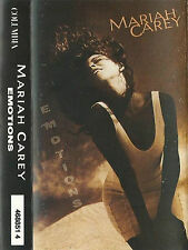 MARIAH CAREY EMOTIONS CASSETTE ALBUM RnB/Swing 1991 Columbia