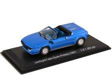 1:43 Lamborghini Jalpa Spyder Prototipo 1987 blau blue metallic - WhiteBox WB511