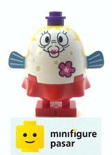bob038 Lego SpongeBob SquarePants 3818 - Mrs. Puff Pink Flower Minifigure