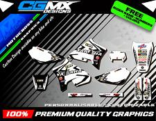 WR 200 Yamaha Motocross MX ATV Quad Graphics Full Decal Kit Deco