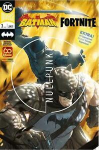 Vorbestellung Batman / Fortnite Heft 3 Panini + Code Lieferung ab 18.5.2021