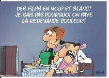 """CPM - Carte postale - Les BIDOCHON """"Des films en noir et blanc, je ne sais....."""""""