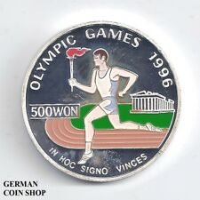 Korea 500 Won 1995 Olympic Games 1996 silver proof colored