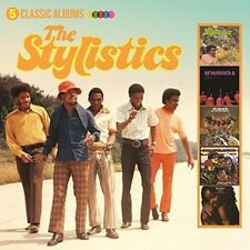 The Stylistics - 5 Classic Albums [New CD] UK - Import