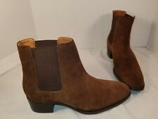 NEW FRYE WOMEN'S DARA CHESTNUT BROWN SUEDE CHELSEA BOOTS WOMAN'S SIZE 9