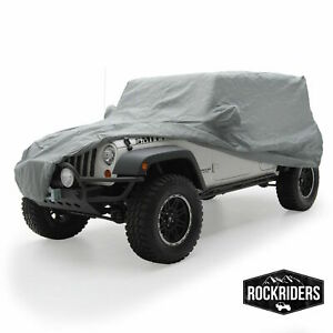 Smittybilt 835 Full Cab Cover w/ Lock & Cable 2007-18 Jeep Wrangler Unlimited JK