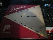 """MILES DAVIS/McLEAN/ROLLINS 10""""ESQUIRE LP"""