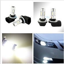 2 units 50W H27 CREE 881 Bright White LED Fog DRL Headlight Lights Bulb lamp
