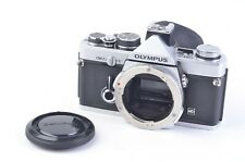 EXC+++ OLYMPUS OM-2N 35mm SLR BODY, CAP, SHOE, EYECUP, NEW SEALS, VERY NICE!