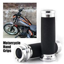 "Motorcycle 1"" Hand Grips Throttle 25mm For Yamaha Raider Road Star Roadliner"