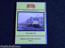 Metrovick, Dunstable Branch, Diesel Electric Heyday Part 1, B & R Volume 191 DVD