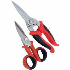 Neilsen Metal Tin Snips Scissors Cut Cutting Sheet Tin Crafts Wire / 1812