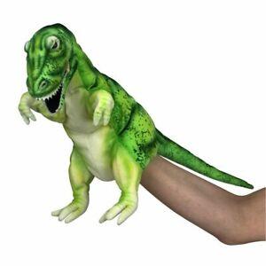 "Hansa T-Rex Dinosaur Hand Puppet soft plush toy 12""/30cm Dinosaur Puppet"