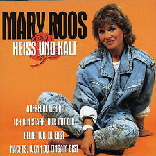 Heiss Und Kalt by Ronny Mary Roos (CD, May-1997, Bmg) Made in EU RARE OOP HTF