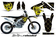 Dirt Bike Decalcomania Kit Grafica Adesivo Pellicola per Suzuki Rmz450