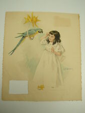 1894 Frederick Stokes Maud Humphrey Calendar Page Print