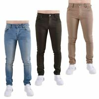 Loyalty and Faith Mens Skinny Jeans Slim Fit Cotton Stretch Denim Trousers Pants
