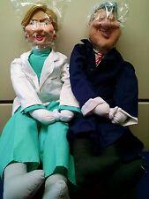 HILLARY & BILL CLINTON SET DR. HILLCARE DOORWAY DRAFT DODGER BLOCKER  NEW IN BOX