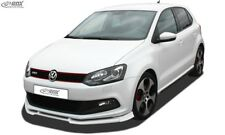Front Spoiler, Front Lip, Extension,VW Polo 6R GTI True1Blue