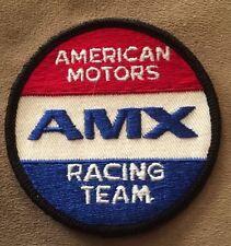 Vintage Patch AMX Racing Team AMC American Motors Muscle Car Rat Hot Rod NOS