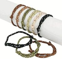 Army Camouflage Friendship Bracelets - Party Bag Fillers - Pack Size 6 - 48