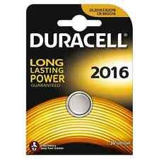 Confezione 1 Batteria Pila Duracell CR2016 DL2016 Bottone Litio 3V hsb