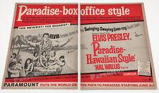 PARADISE, HAWAIIAN STYLE__Original 1966 Trade print AD / promo__ELVIS Presley