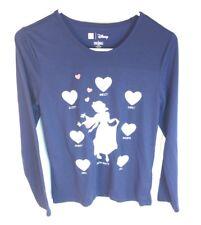 Gap Disney Girl's Size 14 Navy Blue Snow White Sleep Top Pajamas