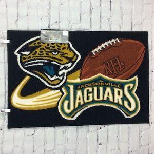 "NFL Jacksonville Jaguars Non-Skid Rug (20"" X 30"") Football Man Cave Tailgating"