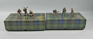 King & Country WS55 & WS56 88MM GUN CREW Both in Box Incomplete