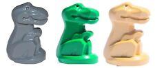 ☀️NEW Lego Lot/3 BABY T REX DINOSAUR Green Gray Tan Dino Animal Statues