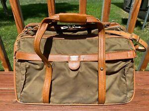 """VTG Hartmann Shoulder Weekend Luggage Bag 3 Compartment Satchel 21"""""""
