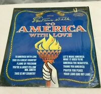"""LAWRENCE WELK """"To America With Love """" 33Lp Vintage Record Excellent"""