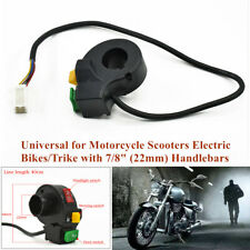 """3IN1 7/8"""" DC 12V Motorcycle Scooter Headlight Turn Signal Horn Handlebar Switch"""